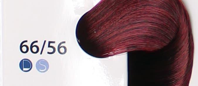 Крем краска ESTEL DE LUXE 66/56 Темно-русый красно-фиолетовый, 60 мл