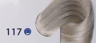 Крем краска ESTEL DE LUXE 117 Пепельно-коричневый блондин ультра, 60 мл