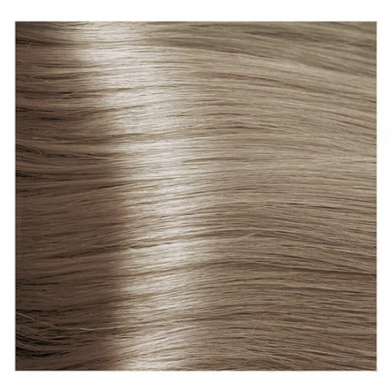 Крем краска Kapous Hyaluronic 10/1 Пепельно-платиновый блонд, 100 мл