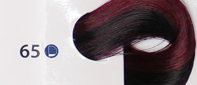Крем краска ESTEL DE LUXE 65 Фиолетово-красный, 60 мл
