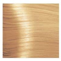 Крем краска Kapous Hyaluronic 10/34 Золотисто-медный платиновый блонд, 100 мл