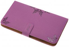 Футляр для ножниц и расчесок DEWAL, полимерный материал, фиолетовый,13х23х2см