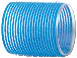 Бигуди-липучки DEWAL, голубые d 55 мм 6шт/уп