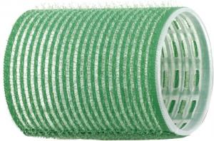 Бигуди-липучки DEWAL, зеленые d 48 мм 12 шт/уп