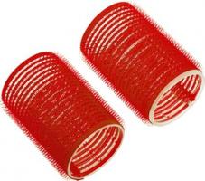 Бигуди-липучки DEWAL, красные d 13мм 12шт/уп