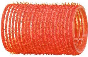 Бигуди-липучки DEWAL, красные d 36 мм 12 шт/уп