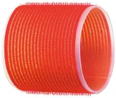 Бигуди-липучки DEWAL, красные d 70 мм 6шт/уп