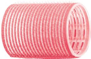 Бигуди-липучки DEWAL, розовые d 44 мм 12 шт/уп