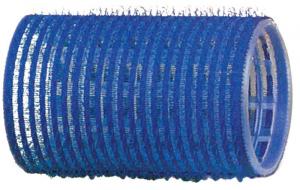 Бигуди-липучки DEWAL, синие d 40 мм 12 шт/уп