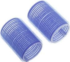 Бигуди-липучки DEWAL, синие d 52мм 6шт/уп